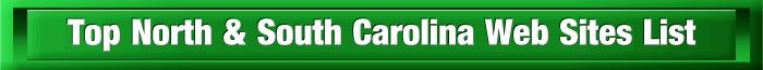 Top North and South Carolina Web Sites List