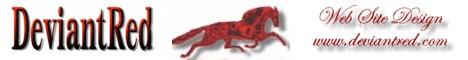 Deviant Red Web Design banner